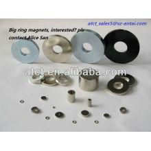 Sintered Big Ring Neodymium Magnet