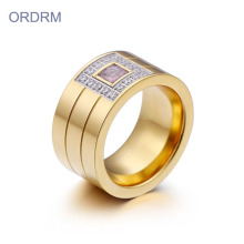 Grosir Mens Cincin Berlian Stainless Steel