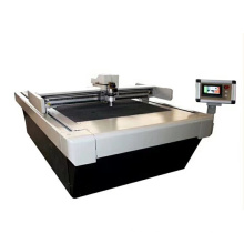 oscillating cutting machine for leather pu denim foam