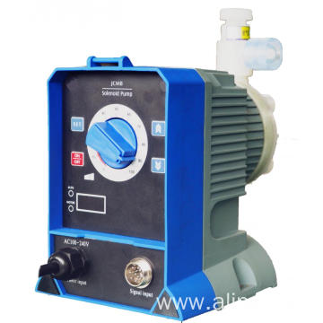 Solenoid diaphragm pump for water