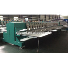 LH head computerized high speed flat embroidery machine