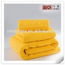 Wedding Gift with Embroidery Logo Wholesale Colorful Cotton Towel Sets