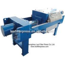 Machine de presse de filtre d'industrie de raffinerie de pétrole de presse de filtre de Leo, machine de filtre à huile après traitement de broyeur d'huile de presse de filtre de Leo