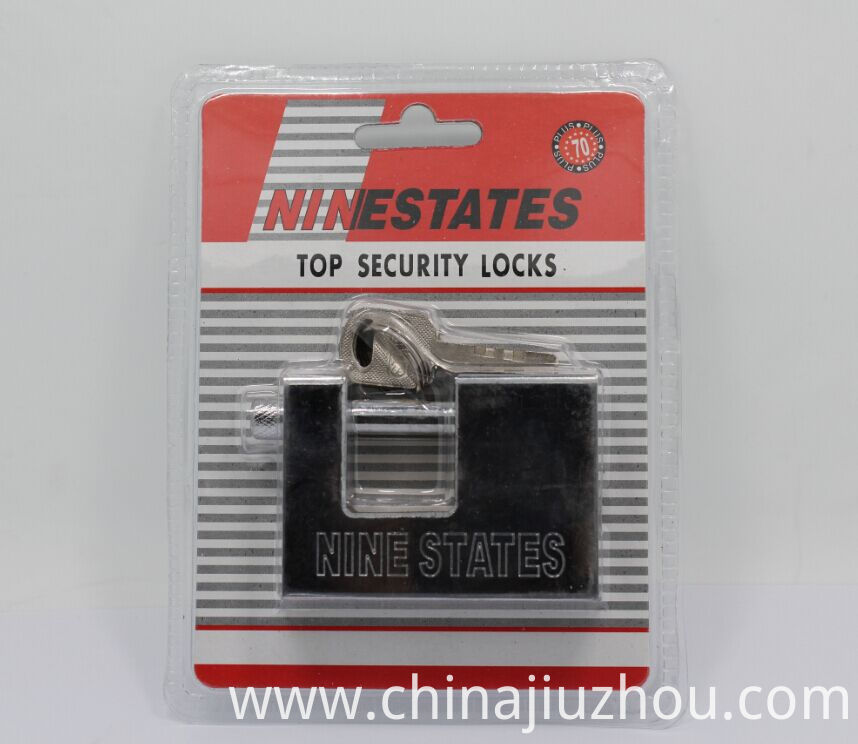 Rectangle Iron Padlock For Safety