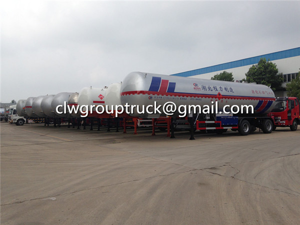 Tri-axle LPG Transport Semi-Trailer