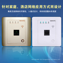 High Speed ​​Single Pole 150 Mbps in Wand Wireless Router für Hotelzimmer, Hotel WiFi Ap, Embedded Metope Wireless Router
