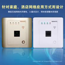 Único pólo de alta velocidade 150Mbps no router sem fio da parede para salas de hotel, hotel WiFi Ap, router sem fio encaixado de Metope