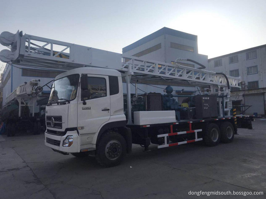 Truck Mounted Drilling Rig 1