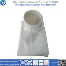 Bolsa de filtro compuesta no tejida del colector de polvo de PPS y de PTFE para la central hidroeléctrica