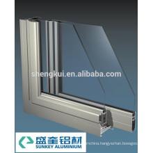 A73 Sliding Windows Anodize sliver Aluminum Profiles Aluminum Extrusions