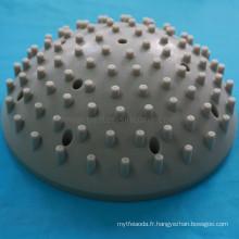 Buse de douche élastique en caoutchouc silicone
