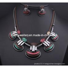 Ensemble de collier de coquille de conception / ensemble de bijoux de mode (XJW13213)