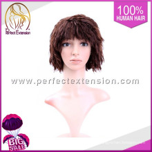 Best Selling 2015 Sex Girl 100% Raw Peruca de Cabelo Natural Indiano