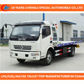 Road Block Removal Truck Platform Towing Truck Dongfeng 4X2 Wrecker
