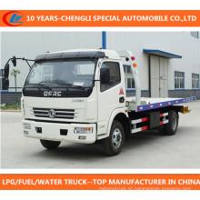 Caminhão de remoção de bloco de estrada Caminhão de reboque Dongfeng 4X2 Wrecker