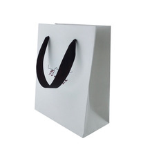 Hair Extensions Packaging Bag with Ribbon Handles