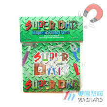 cheap fridge magnet puzzle/magnetic jigsaw puzzle/magnet sticker