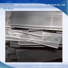 Aluminium Perforated Round Hole Sheet for Tube