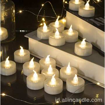 LED Tea Light Candles untuk pernikahan doorgift