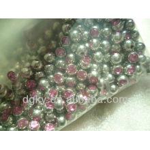 Accessoires chirurgicaux en pierres de cristal en acier