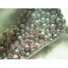 Acessórios de perfuração de bola de cristal de aço cirúrgico