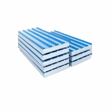 Warna Biru 50mm Inti Tebal EPS Sandwich Panel