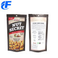 Standup Nuts Zipper Custom Printed Food Packaging Bags
