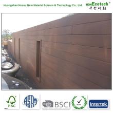Painel de parede composto plástico resistente à podridão impermeável (WPC) / placa da parede