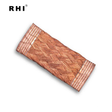 Conector trenzado flexible del fabricante, correa de unión a tierra de cobre