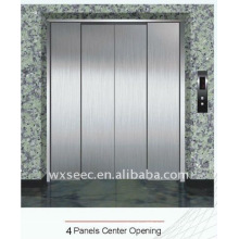 4 panels center opening door