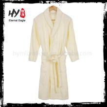 Nouveau style hommes robe de bain en coton blanc fabriqué en Chine