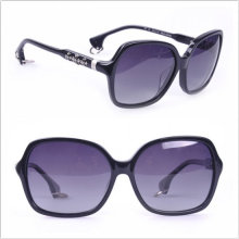 Sun de los hombres / las gafas de sol calientes del estilo / el vidrio de Sun de calidad superior (leche)