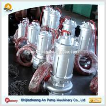 ASW tipo bombas de aguas residuales verticales aguanieve