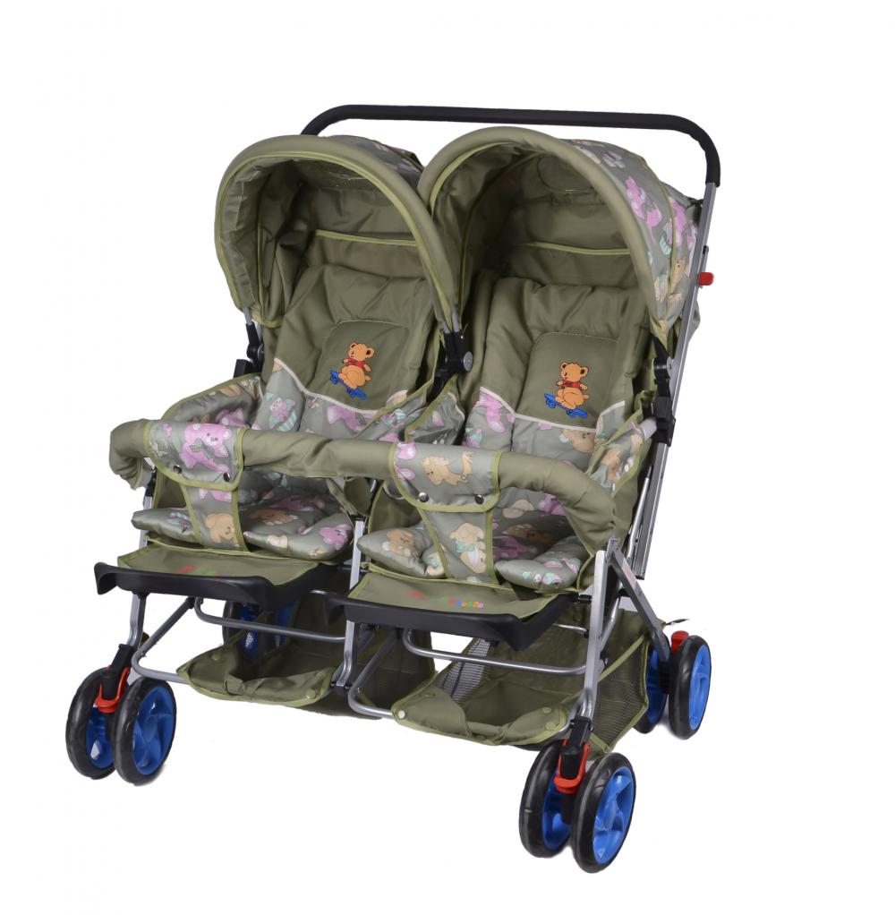 Baby Twins Stroller with Handle Bar