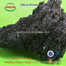 gránulo / polvo de carburo de silicio verde / negro Metalúrgico Sic / carburo de silicio uso desoxidante para la fabricación de acero