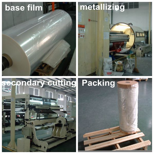 metalized pet twist film manufacturing process