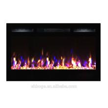 """36 """"nuevo calentador eléctrico de la llama de la línea lateral de la chimenea"""