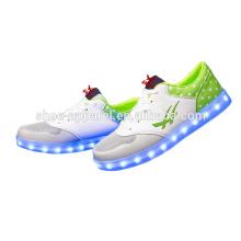 новый PU кожаная обувь светодиодные фонари обувь тапки обувь