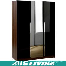 Personnalisez le garde-robe de miroir en verre démontable modulaire (AIS-W785)