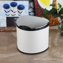 Caixa de lixo de sensores aromáticos moda PU (E-6LB)