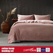 Roupa de cama do cânhamo do algodão para o uso home do hotel de luxo