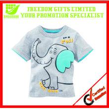T-shirt 100% algodão para crianças