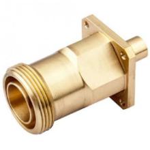 OEM Customized Precision Machined Brass Fiber Adapter