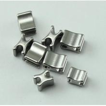 Stainless Steel H Bottom Stopper for Closed-end Zipper