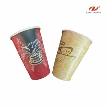 Custom Logo Printed Economic Paper Cups For Coffee