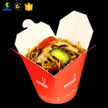 High quality food paper noodle box
