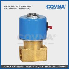 Válvula de água de tamanho pequeno, solenóide elétrico, válvula de água, válvula de óleo