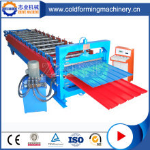 Colored Steel Double Layer Roofing Tile Make Machine