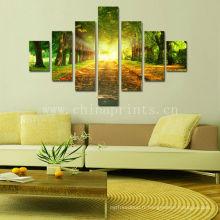 Hanging Frameless Canvas Art / Forest Impression sur toile étirée / Impression numérique photographique naturelle sur toile