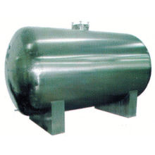 2017 food stainless steel tank, SUS304 30 gallon vertical air tank, GMP horizontal storage tank